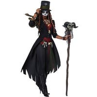 California Costumes Voodoo Magic Adult Costume - Black/Red