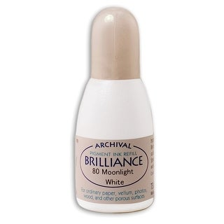 Brilliance Ink Refill .7Oz-Moonlight White