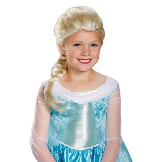 Disguise Elsa Child Wig - Blonde