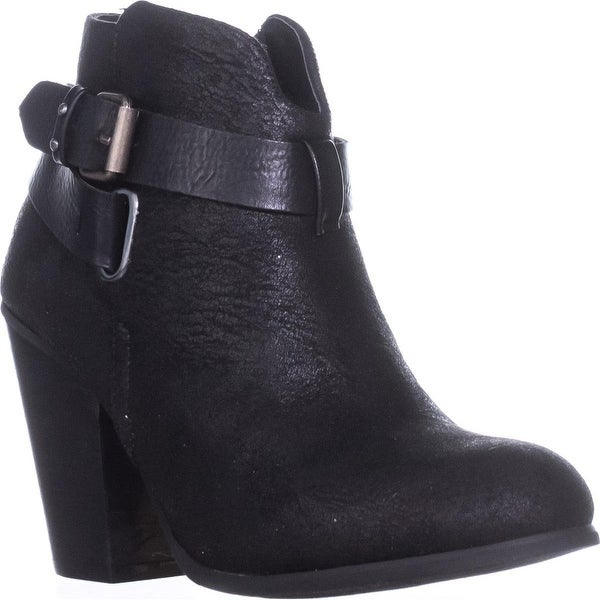 XOXO Katniss Ankle Booties, Black - 6 us / 36.5 eu