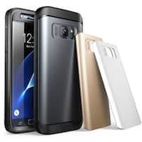 SUPCASE-Samsung Galaxy S7 Water Resistant Fullbody Protection Case(Gun Metal/Silver/Gold)