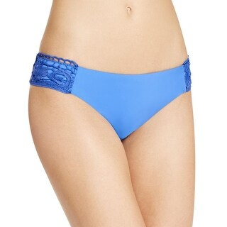 Becca by Rebecca Virtue Womens Lace Overlay Hipster Swim Bottom Separates