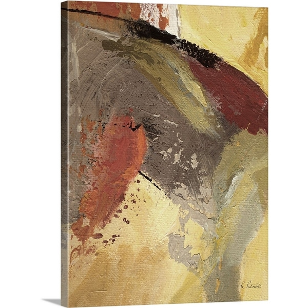 """""""Shaken And Removed II"""" Canvas Wall Art"""