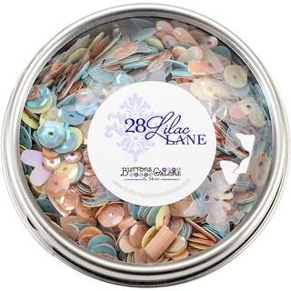 28 Lilac Lane Tin W/Sequins 40G-Spring Butterflies