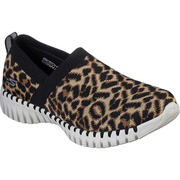 GOwalk Smart Safari Slip-On Leopard