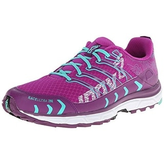Inov-8 Womens Race Ultra 290 Mesh Lace-Up Running Shoes - 8.5