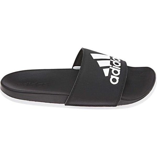 a61565ccc ... Women s Shoes     Women s Sandals. adidas Women  x27 s Adilette  Cloudfoam PLus Logo Slide Sandal Core Black FTWR