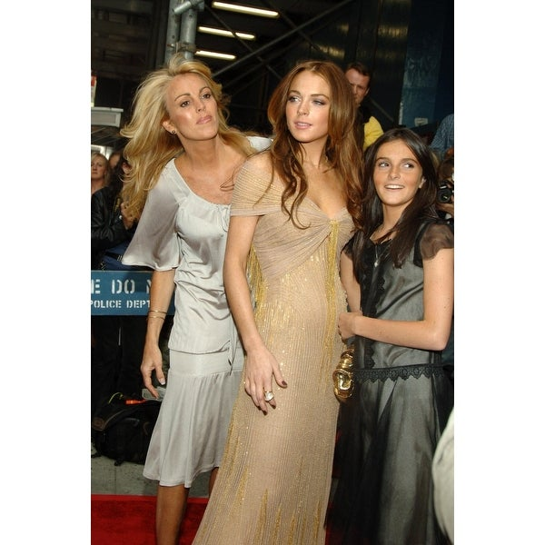 4f8e9db19375 Shop Dina Lohan Lindsay Lohan Ali Lohan At Arrivals For A Prairie Home  Companion Premiere - Part 2 The Directors Guild Of America The - Free  Shipping On ...