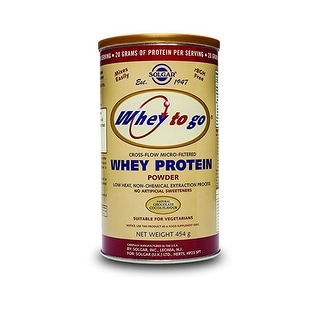 Solgar Whey To Go Protein Powder Natural Chocolate Flavor 16