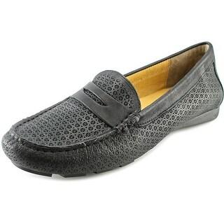 Vaneli Remy Women Moc Toe Leather Loafer
