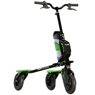 Trikke Colt Air Scooter Black with Green