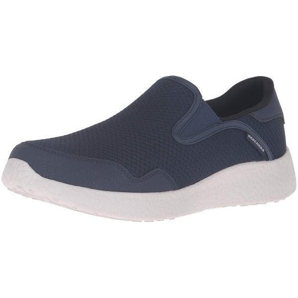 fcea960ae77e Shop Skechers Sport Men's Burst Just In Time Fashion Sneaker,Navy ...