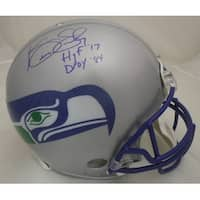 Kenny Easley Autographed Seattle Seahawks Full Size Proline Helmet with HOF  DPOY 84 JSA