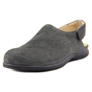 Softwalk Holland N/S Round Toe Suede Slingback Heel