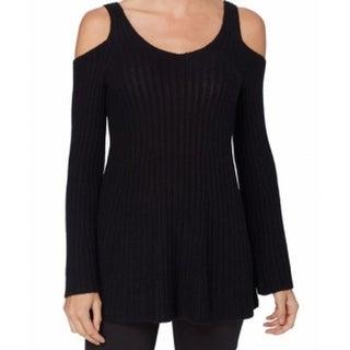 Catherine Malandrino NEW Black Women's Small S Scoop Neck Sweater