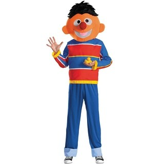 Disguise Ernie Adult Costume - Multi