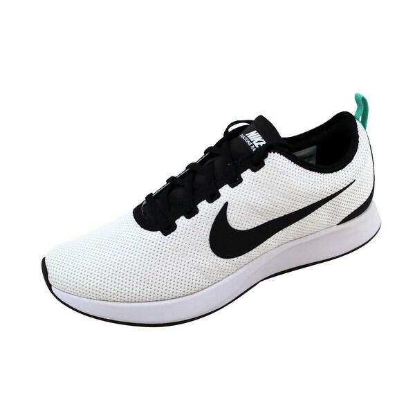 Nike Men's Dualtone Racer White/Black-Pure Platinum 918227-100