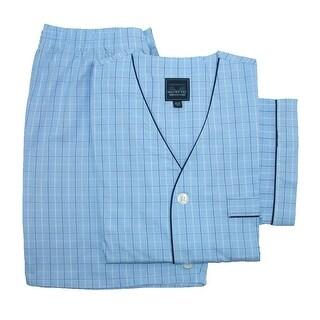 Majestic International Men's Cotton Short Sleeve / Short Leg Pajama Set