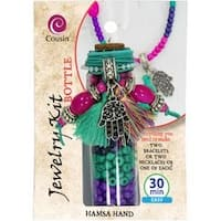 Hamsa Hand - Jewelry Kit In A Bottle