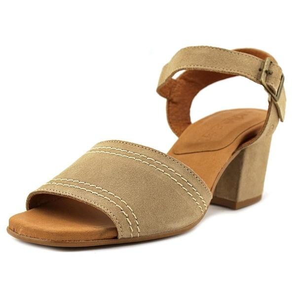 Sixtyseven 78501 Women Open Toe Synthetic Tan Sandals