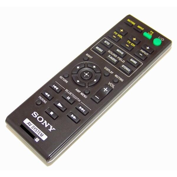 OEM Sony Remote Control Originally Shipped With: SA-CT260H, SACT260H, SA-WCT260H, SAWCT260H