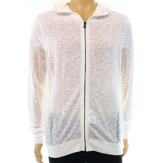 INC NEW White Pure Mens Size Large L Hooded Full-Zip Mesh Sweater|https://ak1.ostkcdn.com/images/products/is/images/direct/aa13874f23941157ab6baa1e2aad8568edfa0e4c/INC-NEW-White-Pure-Mens-Size-Large-L-Hooded-Full-Zip-Mesh-Sweater.jpg?impolicy=medium