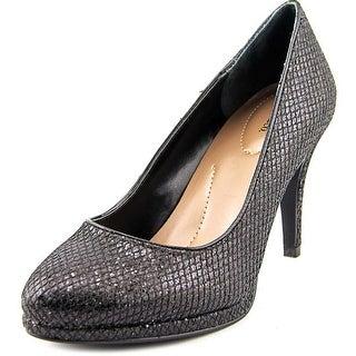 Style & Co Nikolete Round Toe Synthetic Heels