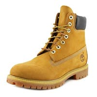 Timberland 6 in Prem Men  Round Toe Leather Tan Work Boot