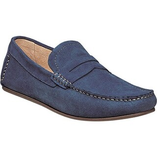 Florsheim Men's Denison Blue Suede/Full Grain Leather