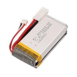 DC 7.4V 1500mAh Rechargable Lithium Polymer Battery for Aerial Photography