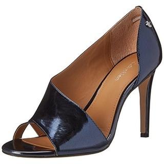 Calvin Klein Womens Caelin Open-Toe D'Orsay Heels