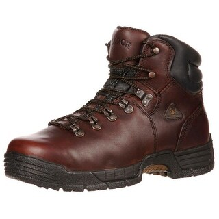 "Rocky Work Boots Mens 6"" Mobilite ST Waterproof Dark Brown FQ0006114"