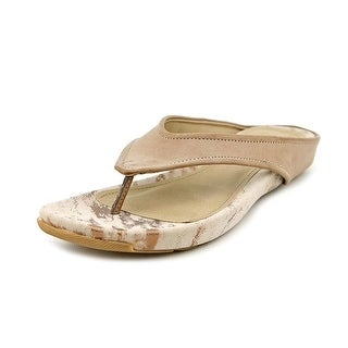 Kenneth Cole Reaction Water Park Women Open Toe Synthetic Nude Thong Sandal
