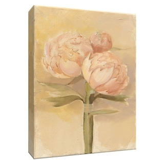 """PTM Images 9-154706  PTM Canvas Collection 10"""" x 8"""" - """"Inspirational Peonies"""" Giclee Peonies Art Print on Canvas"""