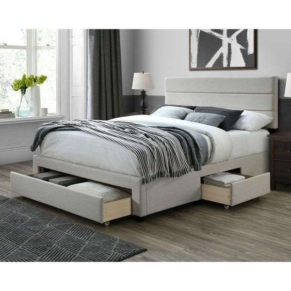 DG Casa Flynn Upholstered Storage Bed. Opens flyout.