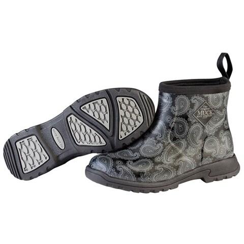 Muck Boots Women's Breezy Ankle Series w/ XpressCool Lining & 4mm CR Flex-Foam