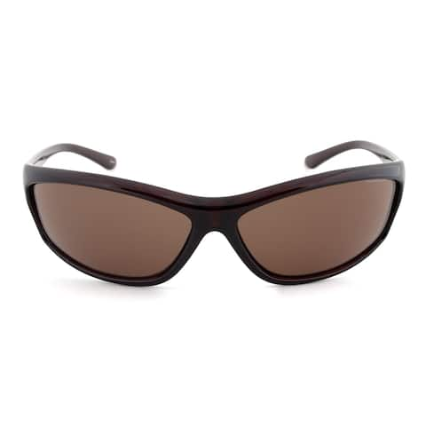 Timberland TB7088 50E Sport Sunglasses Dark Brown Frame Brown Lens - 67mm x 13mm x 130mm
