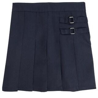 French Toast Girls 4-6X Two Tab Pleated Scooter (More options available)
