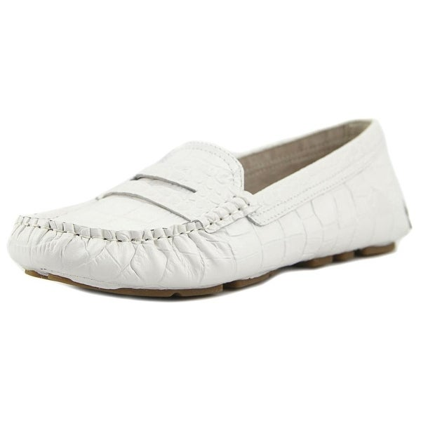 3abed33d2f9e8 Shop Sam Edelman Filly White Flats - Free Shipping On Orders Over ...