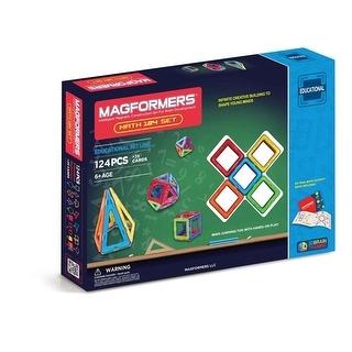 Magformers Math Activity 124 Piece Set