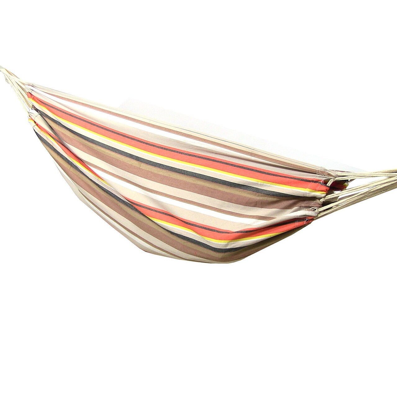 Sunnydaze Premium 100 % Natural Tightly Woven Cotton Double Brazilian Hammock - Thumbnail 6