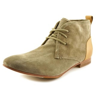 Sebago Hutton Chukka Women Round Toe Suede Gray Chukka Boot