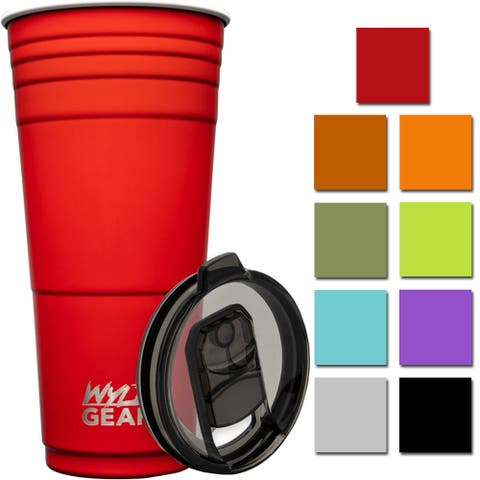 Wyld Gear 32 oz. Vacuum Insulated Stainless Steel Party Cup Tumbler - 32 oz.