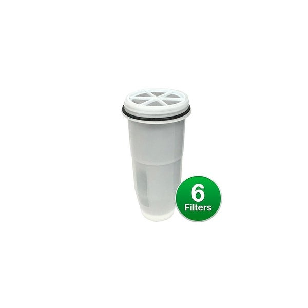 shop zero water replacement filter 6 pack portable replacement filters free shipping today. Black Bedroom Furniture Sets. Home Design Ideas
