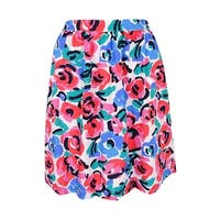 Tommy Hilfiger Women's Floral-Print A-Line Skirt - Multi