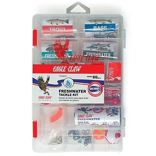 Eagle Claw Freshwater Tackle Kit