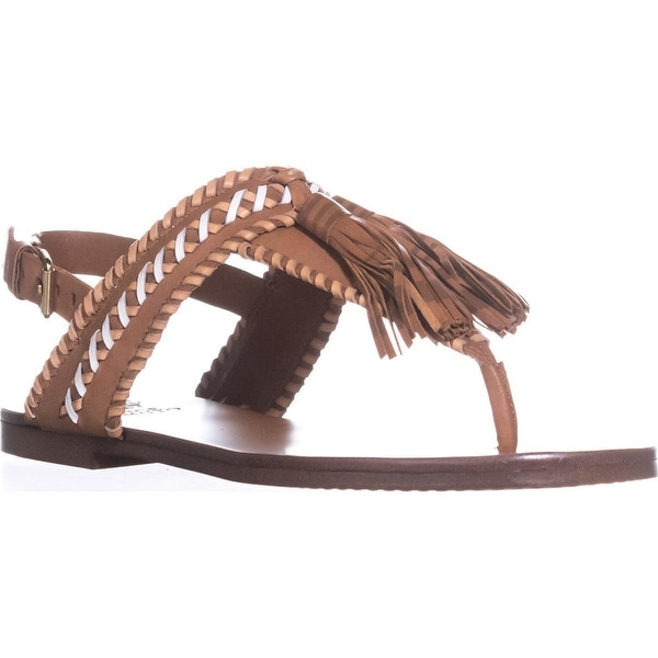 Vince Camuto Rebeka Flat Sandals, Whiskey Barrel Combo