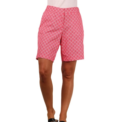 Land 'N Sea Misses Stretch Twill Printed Short