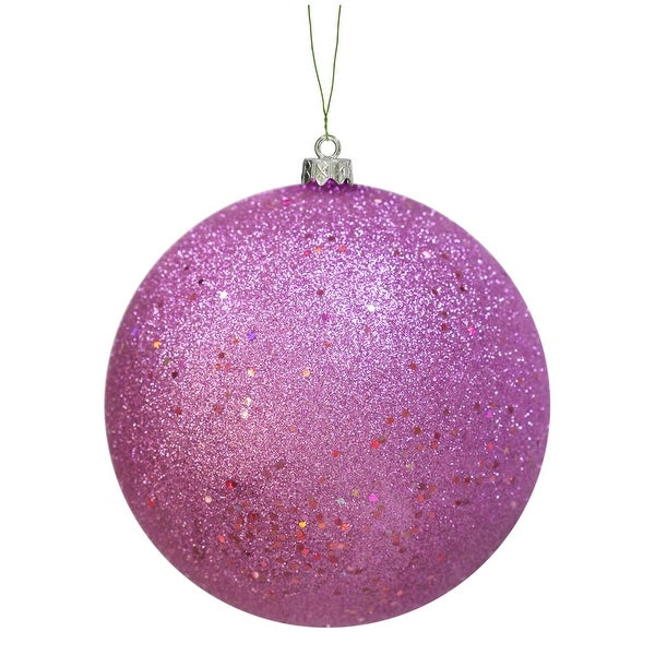 "8"" Orchid Sequin Ball Drilled Cap"