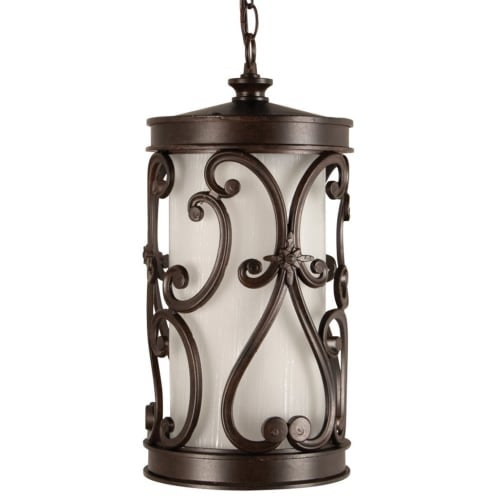 Craftmade Z5321-LED Glendale 1 Light LED Cylinder Outdoor Pendant - 8 Inches Wide